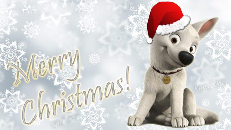 Imágenes de Navidad con perro
